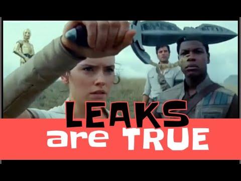 Rise of Skywalker LEAKS are TRUE