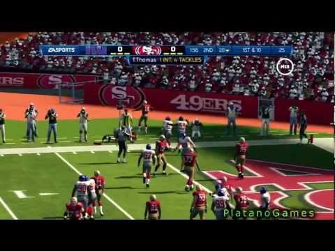 NFL Playoffs 2012 - NFC Championship Game - New York Giants vs San Francisco 49ers - 1st Half - HD