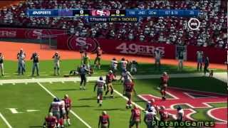 NFL Playoffs 2012 - NFC Championship Game - New York Giants vs San Francisco 49ers - 1st Half - HD