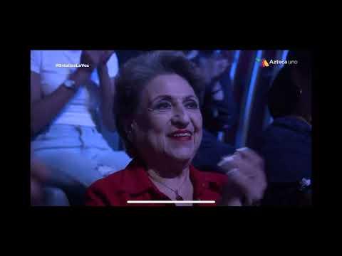 Lalo Arriola y Vivian Baeza hacen llorar a Belinda gracias a su gran interpretación en La Voz