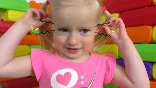 Hairstyle Chupa Chups Lollipops + otras Canciones Infantiles con Katya y Dima