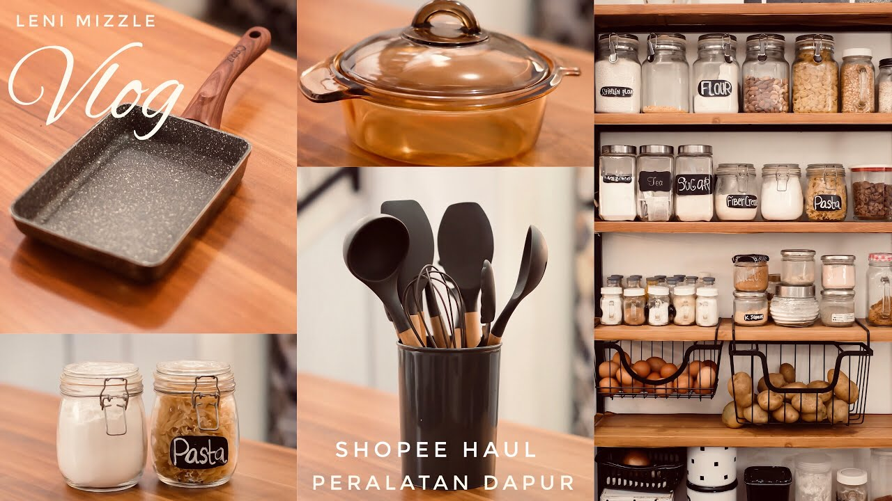 Review Peralatan Dapur I My Kitchen Tools I #SHOPEEHAUL I shopee haul