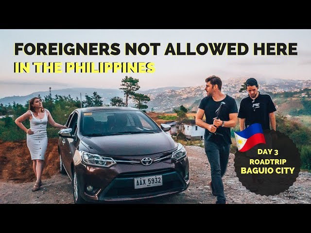 We can't show you this! ROAD TRIP from BAGUIO CITY - NORTH PHILIPPINES