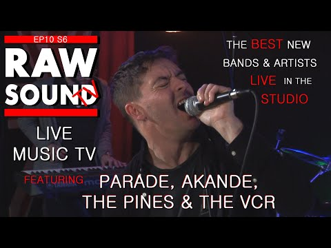 LIVE MUSIC TV Best New Bands And Artists Episode 10 Series 6 RawSound TV
