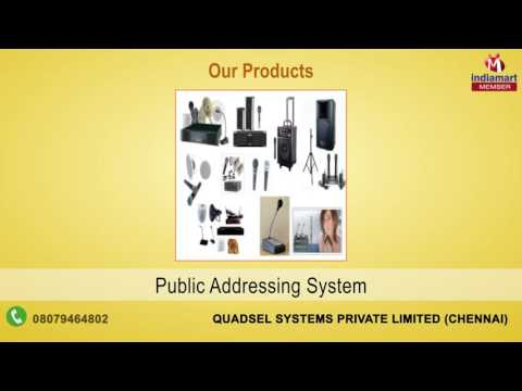 IT Products & Services By Quadsel Systems Private Limited, Chennai