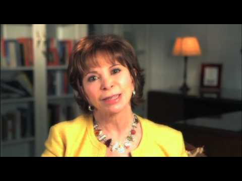 Isabel Allende discusses MAYA'S NOTEBOOK