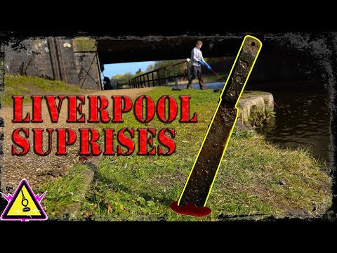 Magnet Fishing – More Suspicious Finds in Liverpool