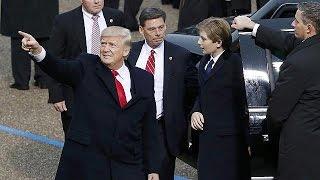 Trumps inauguration overshadows Davos