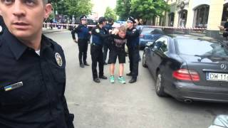Харьков 09.05.2016 безпредельщики на петровского!