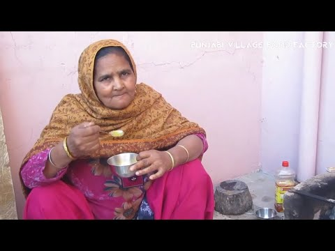 matar-paneer-recipe-ā¯¤-grandma's-recipes-ā¯¤-punjabi-village-matar-paneer-recipe