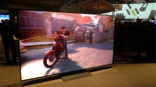 SONY XE93 XE94 LCD 4K Fernseher mit DOLBY VISION (CES 2017)