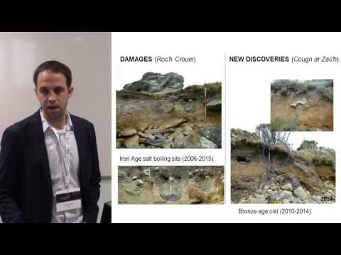 Coastal erosion and Public Archaeology in Brittany (France)