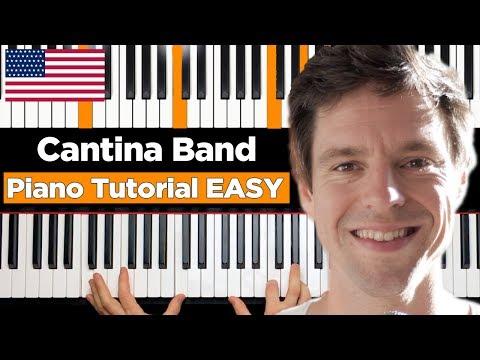 Cantina Band - STAR WARS - Piano Tutorial EASY