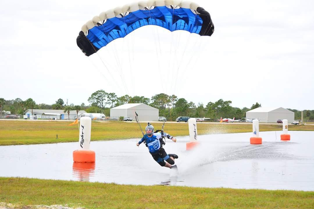 2016 FLCPA Skydive Swooping Event 1 Full Length Video CAMERA 2 Raw Footage