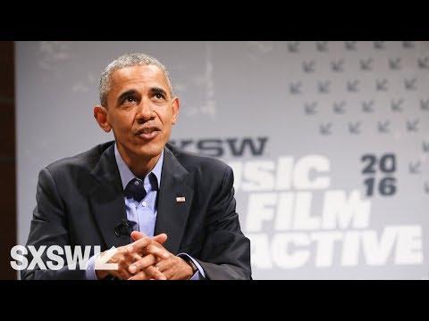 President Barack Obama Keynote Conversation | SXSW Interactive 2016