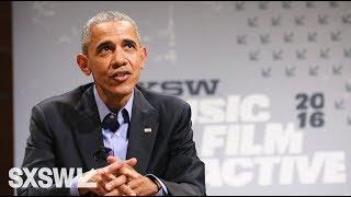 President Barack Obama Keynote Conversation | SXSW Interactive 2016 thumbnail