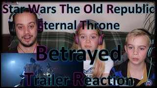Star Wars The Old Republic Eternal Throne 'Betrayed' | Trailer | Reaction