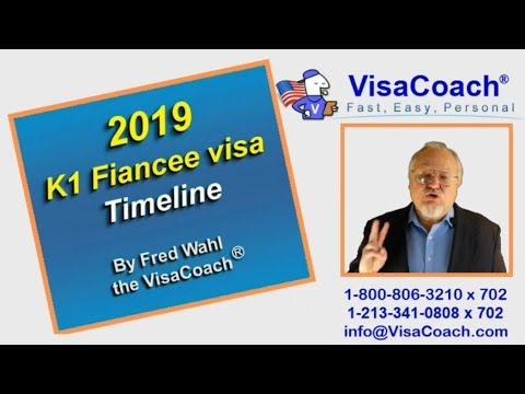 2019 K1 Fiance Visa Timeline: How long does it take?