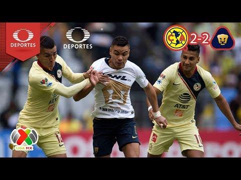 América saca la casta | América 2 - 2 Pumas | Apertura 2018 - J7 | Televisa Deportes