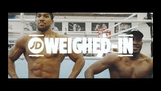 Anthony Joshua Talks Alexander Povetkin, WWE & More With Stevo The Madman | JD Weighed-In