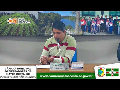 41• Sessão Ordinária da Câmara de Vereadores de Matos Costa-SC