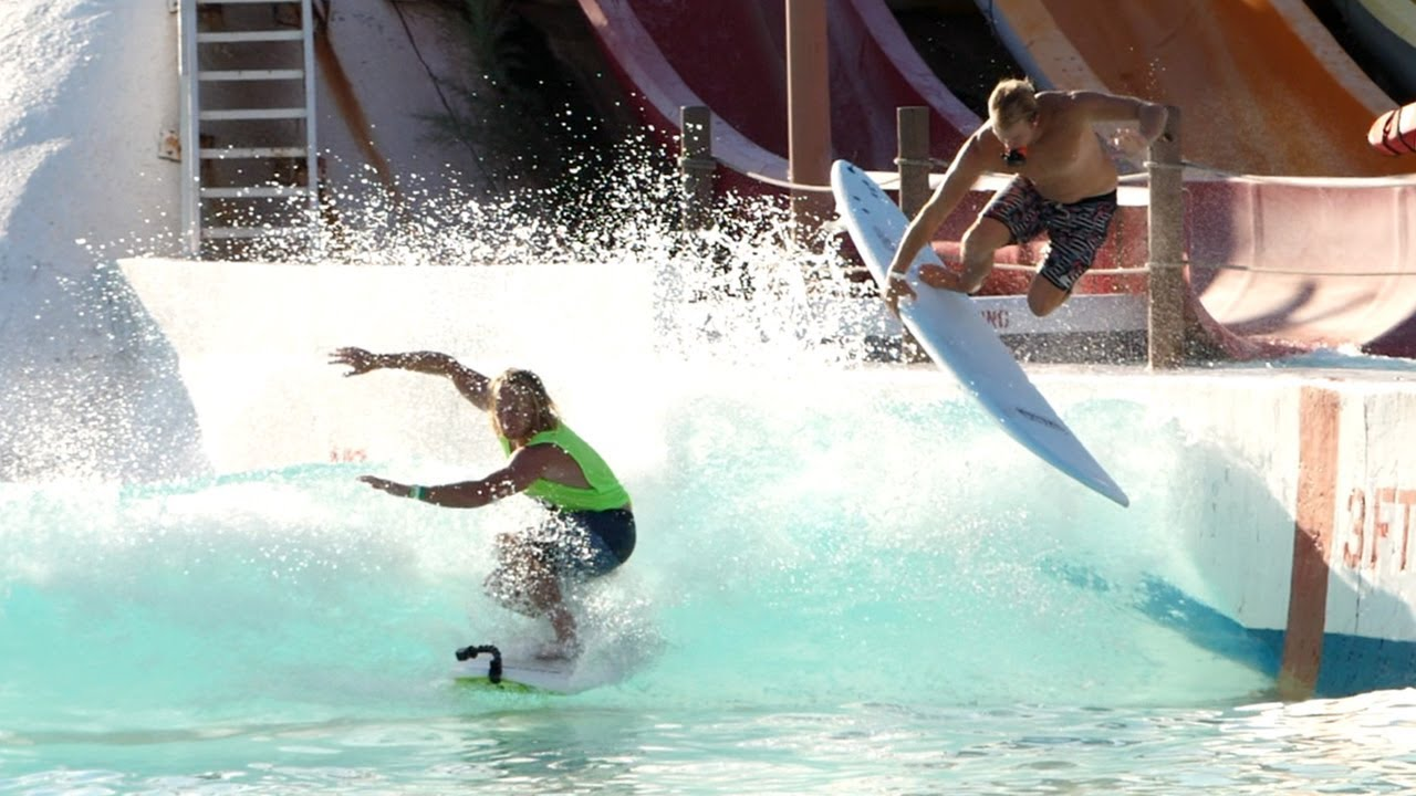 Big Surf Wavepool in Arizona - Ben Gravy with Jamie O'Brien