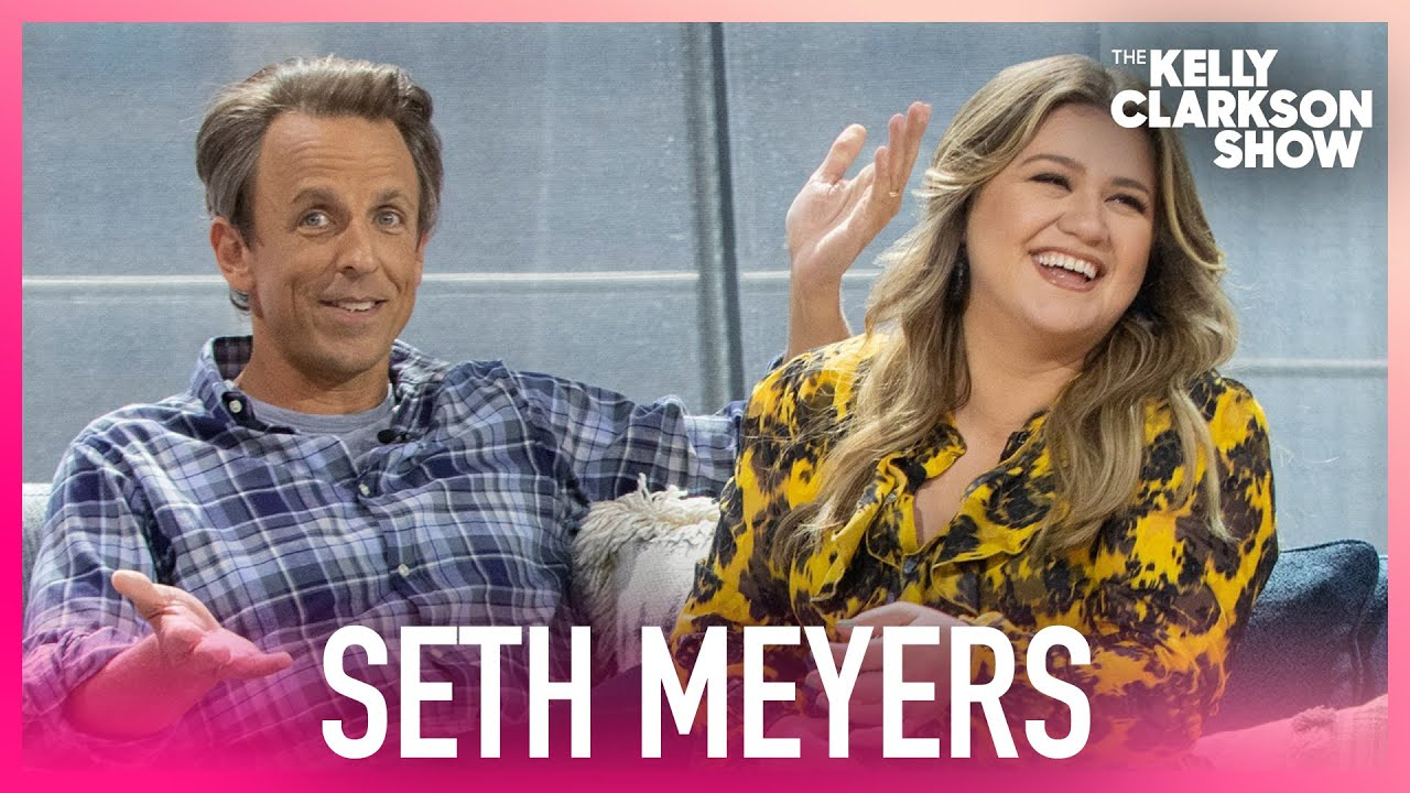 Seth Meyers And Kelly On Not Being Recognized In Public