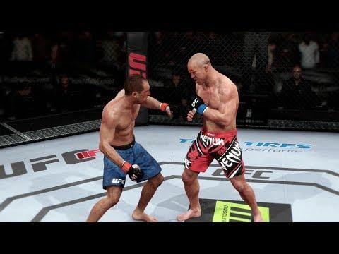 EA UFC (PS4): Royce Gracie (DLC) vs Wanderlei Silva Middleweight Championship Match