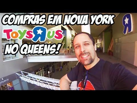 Compras em Nova York: Toys R Us no REGO CENTER - Queens
