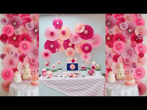 DIY Room Decor | Paper crafts ideas for room decoration | wall Hanging with paper