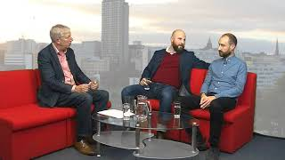 Sheffield Live TV Tareq Hawasli (Blades director) & James Marriott (Owls writer) 26.10.17 Part 1