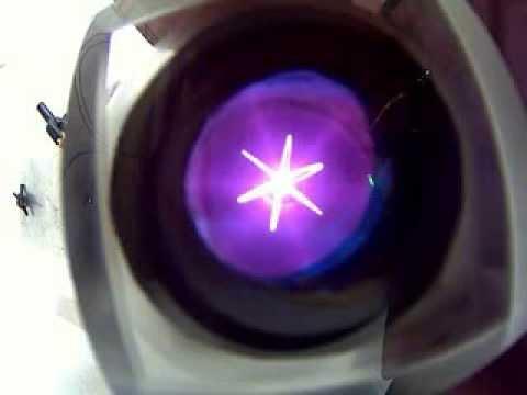 IEC Fusor deuterium plasma