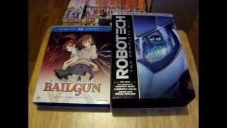 A Certain Scientific Railgun: Season One & Robotech: The Complete Set [Unboxing]