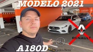 Mercedes A180D 2021! TODO ESTO HA CAMBIADO! ADIOS RENAULT...