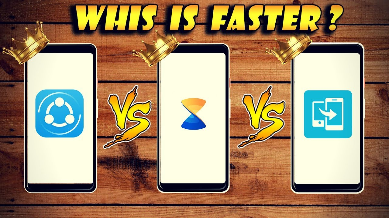 Xender Vs Shareit Vs Xshare Which One Is Fastest File Sharing App Hindi  E0 A4 B9 E0 A4 Bf E0 A4 82 E0 A4 A6 E0 A5 80