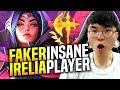 Faker is a Beast with Irelia! - SKT T1 Faker Picks Irelia Mid! | SKT T1 Replays
