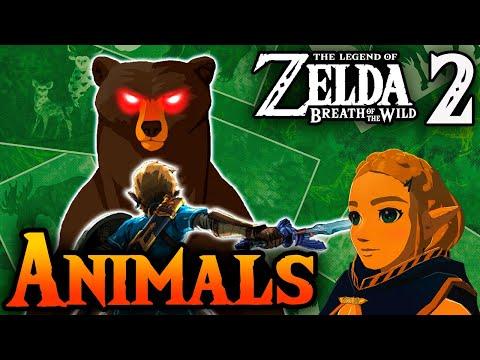 New Animals in Zelda Breath of the Wild 2
