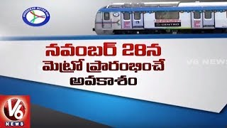 Hyderabad Metro Rail is all set to be launched in the last week of ...