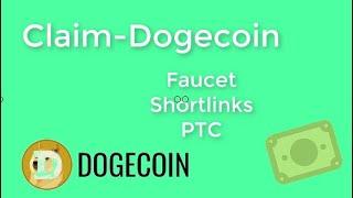 Claimdoge gana Dogecoin todo el dia ilimitado y gratis