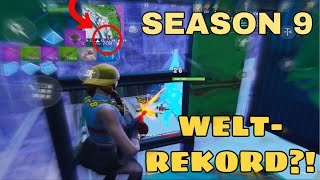 FORTNITE WELTREKORD in SEASON 9 !? But then THAT happened... || Fortnite Mobile English