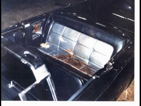 JFK CAR & LAMP CHOP DOLL in the CAR at Washington Secret Service Garage