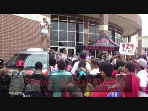 Brazosport High School TAKS FIELD DAY w/ @kbxx979thebox