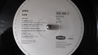 Yes - Talk (vinyl / LP / 1994) full album