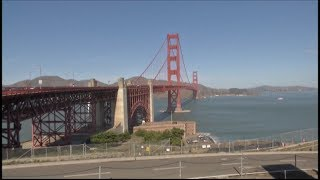 Delays on Golden Gate Bridge will last for YEARS as suicide barrier installed