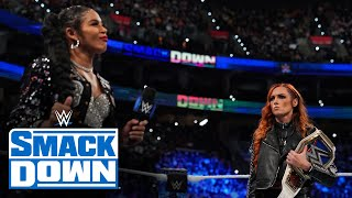 Bianca Belair makes a statement to Becky Lynch ahead of WWE Extreme Rules: SmackDown, Sept. 24, 2021