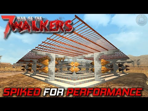 Walkway and Spikes | WOTW MOD | 7 Days To...