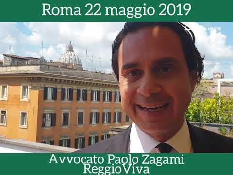 Intervista all'avvocato Paolo Zagami  a) il suo terzo libro;   b)situazione di Reggio in generale e