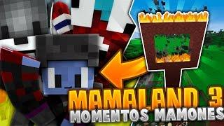 MamaLand 3 - ALAN TROLLEADO, OLLIE vs ZILVERK, y DRAGON BALL SUPER! (Compilacion en Minecraft #4)