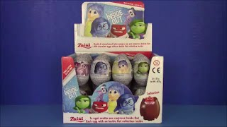 "Disney Pixar ""Inside Out"" Chocolate Egg SURPRISES BestToySurprises"