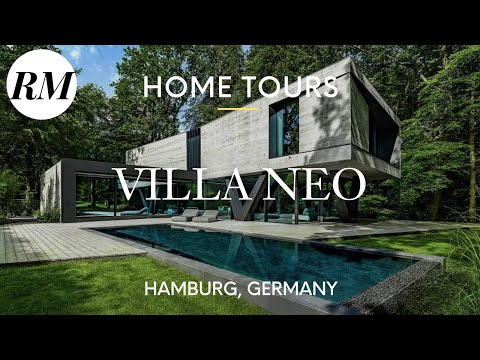 Inside Modern German Home, Villa NEO in a Forest in Hamburg, Germany   Residential Market Home Tour